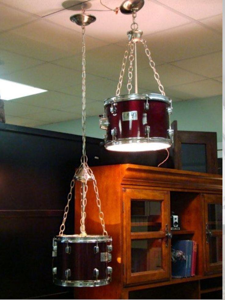 Hanging Drum Ceiling Light ~