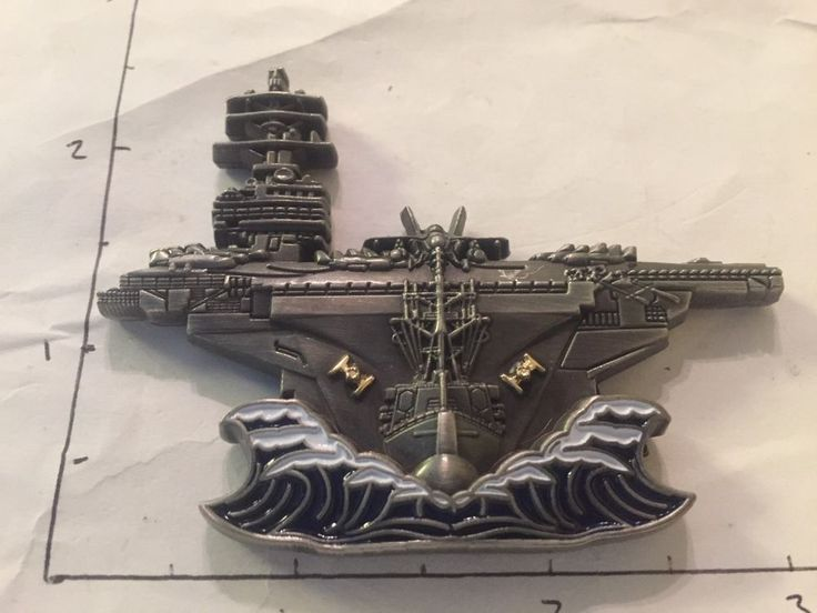 Carrier Strike Group One Navy Chief CPO Challenge Coin
