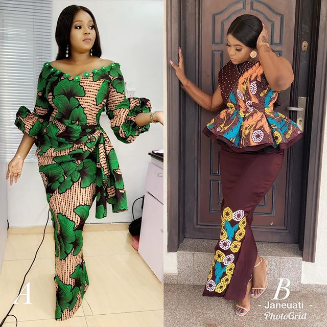 Get Latest Fashion And Beauty 2019 Latest African Fashion Dresses Ankara Skirt And Blouse African Print Dresses