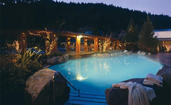 Harrison Hot Springs in British Columbia