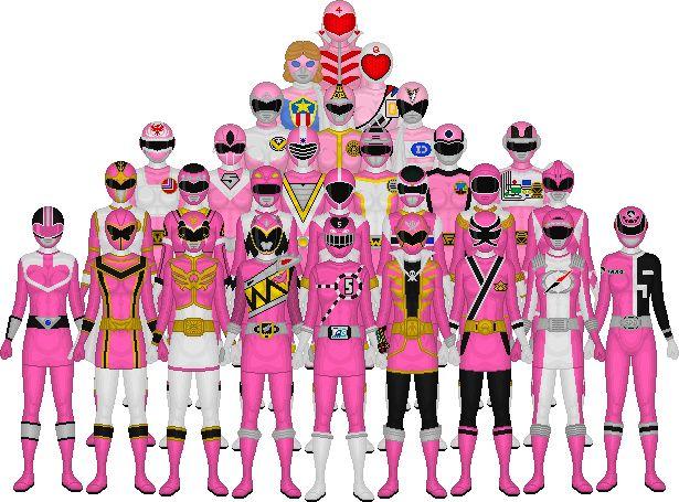 All-of-Super-Sentai-s-Pink