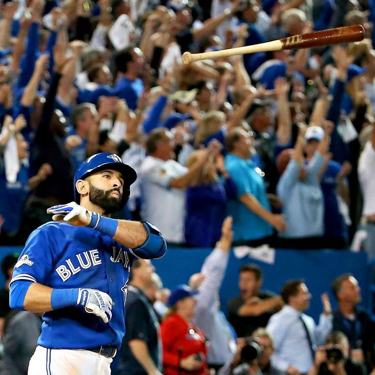 The bat flip seen 'round the world.