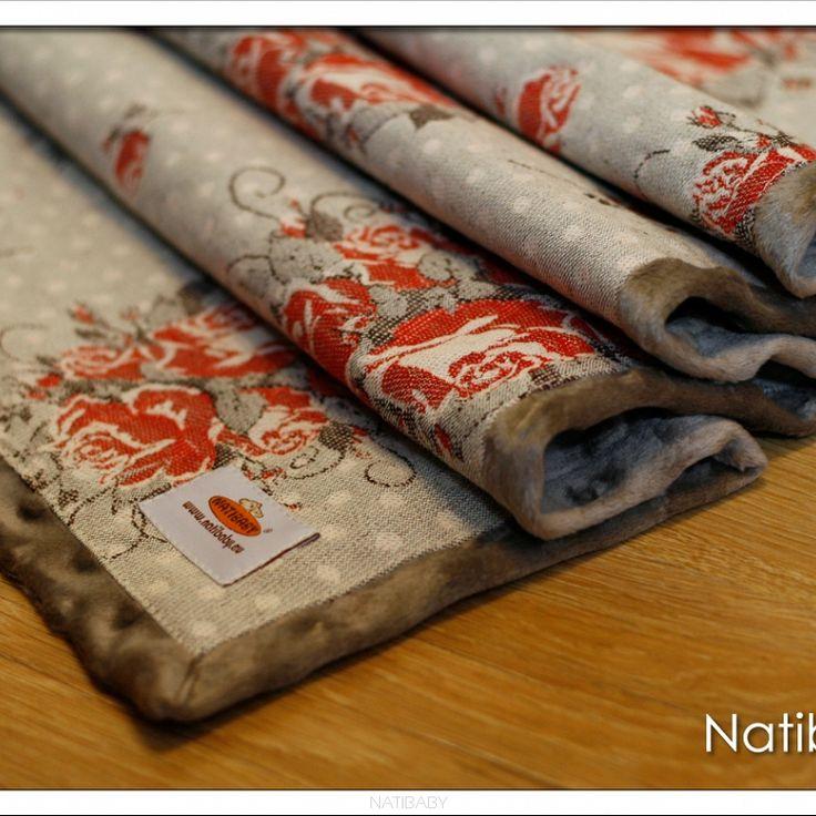 NatiBlanket Vintage Roses