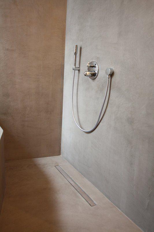 Badkamer nieuwbouw - Texture Painting.