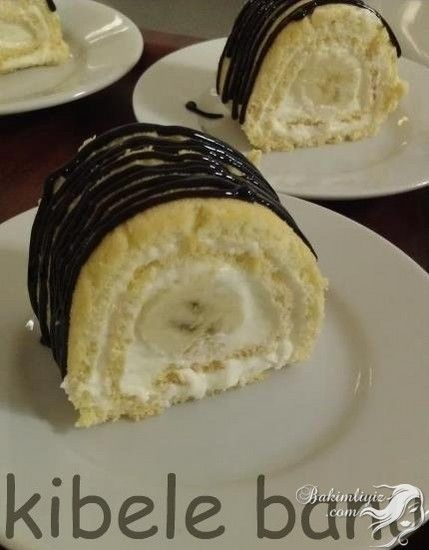 Muzlu Rulo Yaş Pasta Tarifi