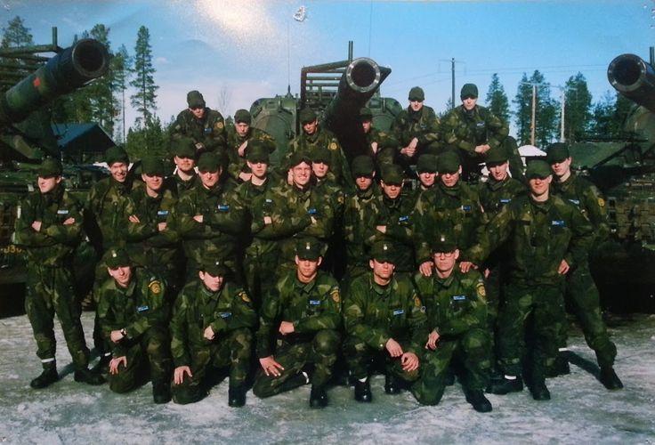 My platoon back in 2000 (Swedish army) [OC] [1012x688]