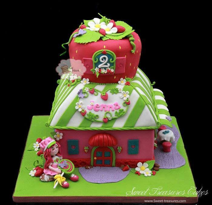 Images Of Strawberry Shortcake Cake : Pin by Amanda Vance on Noelle Pinterest