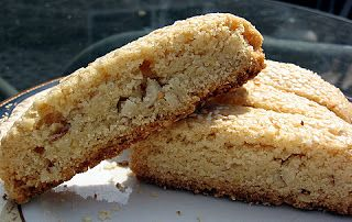 Paximadia- Greek Toasted Almond Cookies (like biscotti)