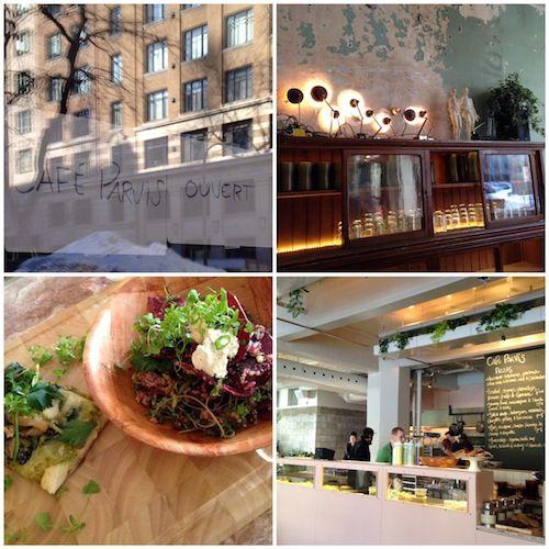 Centre-ville : Café Parvis | À la mode Montréal