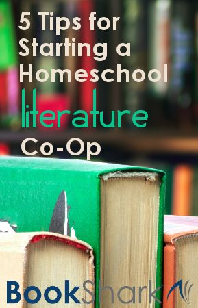 5 Tips for Starting a Homeschool Literature Co-op