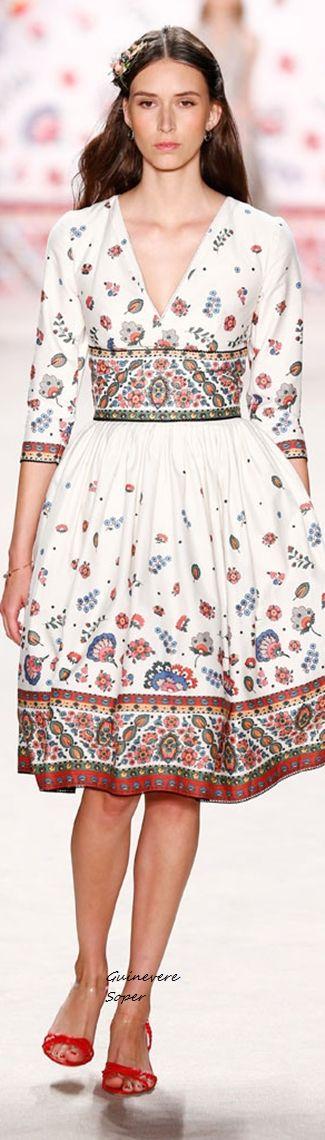 Lena Hoschek Spring 2016 RTW Austria | Fashion Trends 2017