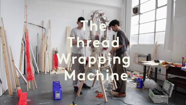 The Thread Wrapping Machine is a tool to join different types of material with only a glue-coated thread to bond it. No screws ore nails are used to join the different…
