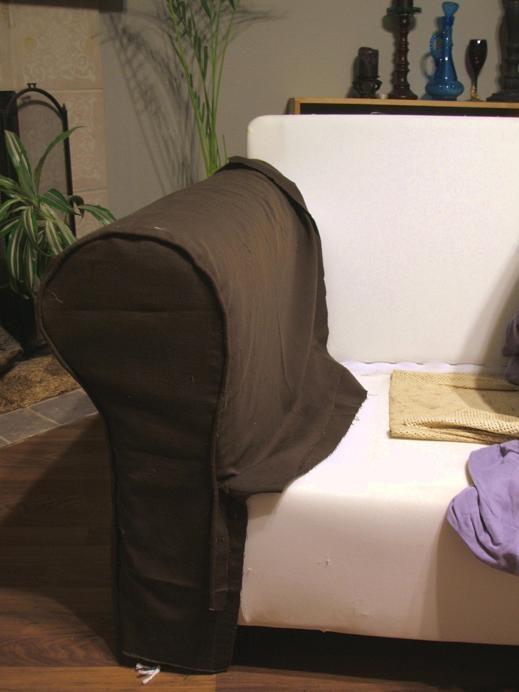 Tuto pour housse de canapé ektorp