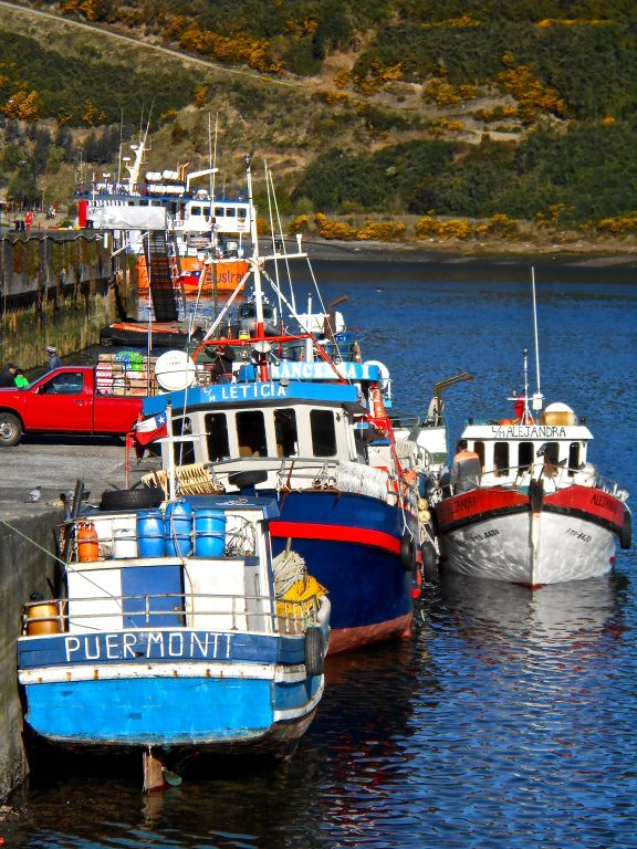 boats of Puerto Montt