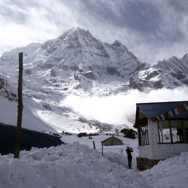 At Annapurna basecamp