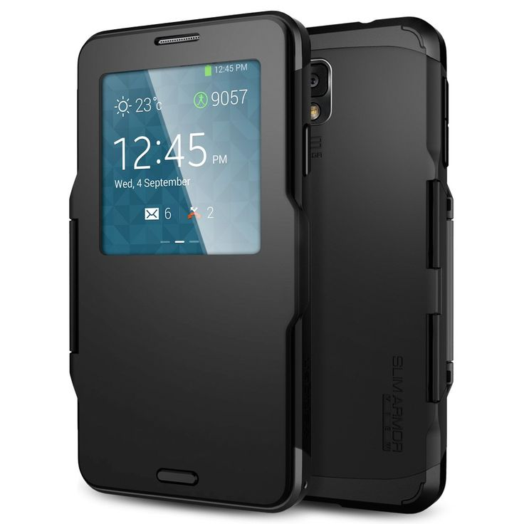 Galaxy Note 3 Case Slim Armor View (one of the more attractive yet functional slim cases)