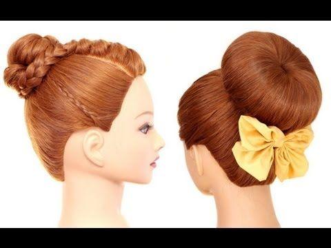 Легкие летние прически на длинные волосы. Easy summer hairstyles for long hair - YouTube