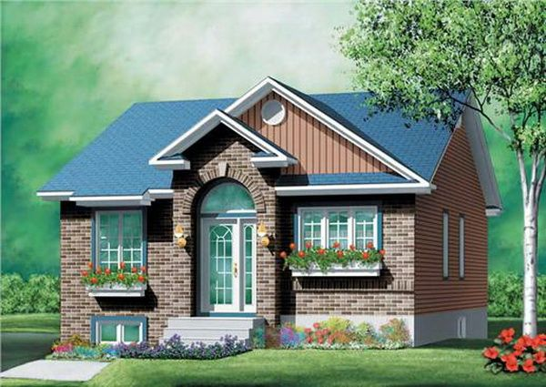 Small Brick Cottage House 1