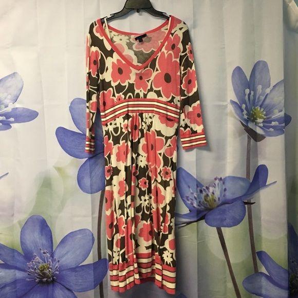 Boden dress Floral Boden sweater dress Boden Dresses Long Sleeve