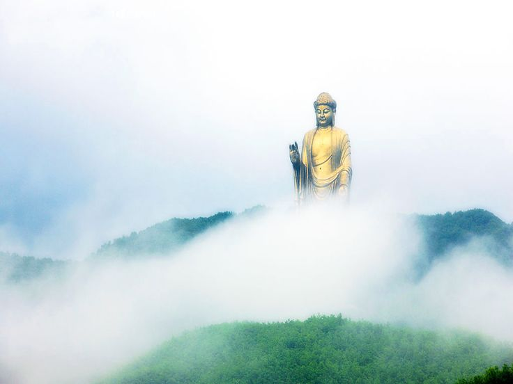 33 colossal monuments and statues around the world Spring Temple Buddha (Lushan County, Henan, China)
