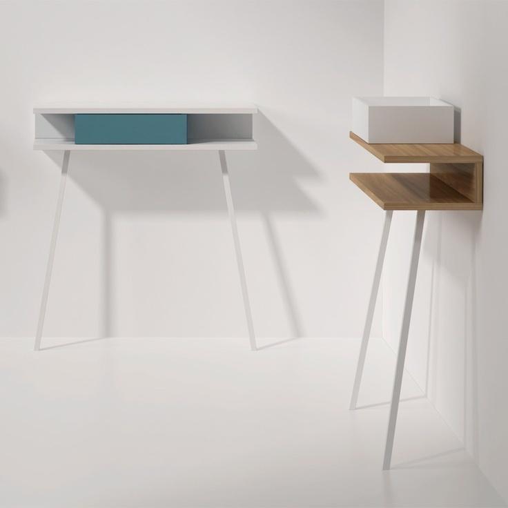 Catalogo de muebles modernos de la marca arlex donde comprar la consola de recibidor passing. Consola recibidor de diseño.