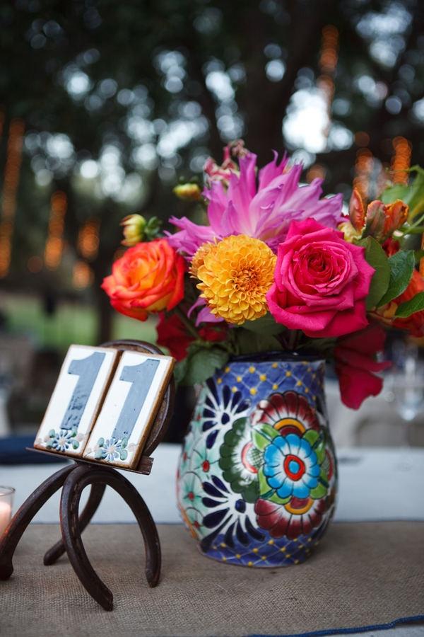 Talavera Vase || Photography By / rudyarpia.com, Wedding Planning By / loveandsplendor.com