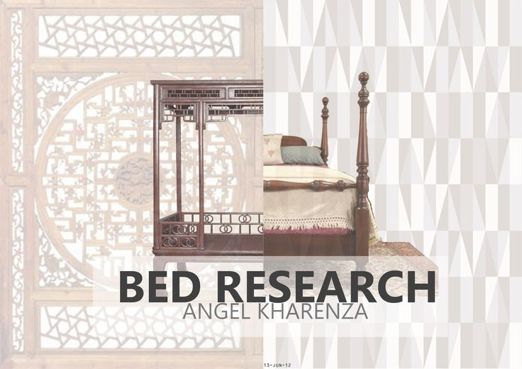 Cover for bed research by Angel Kharenza