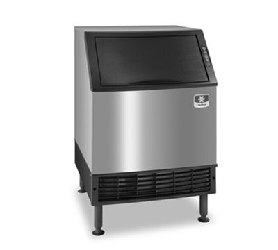 ice maker from Manitowoc produces up to 132 pounds of half-dice ice ...