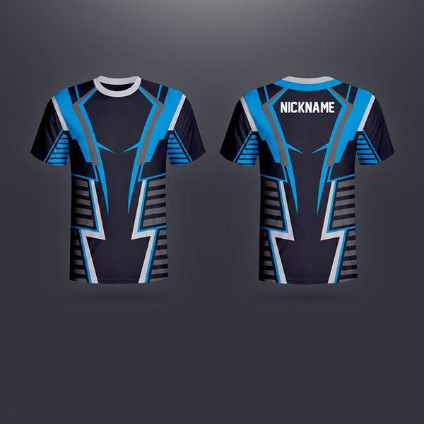 Download Jersey Esport 2 On Behance Pakaian Olahraga Logo Keren Desain Logo