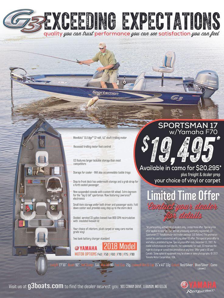 Sportsman 17 Promo | G3 Boats