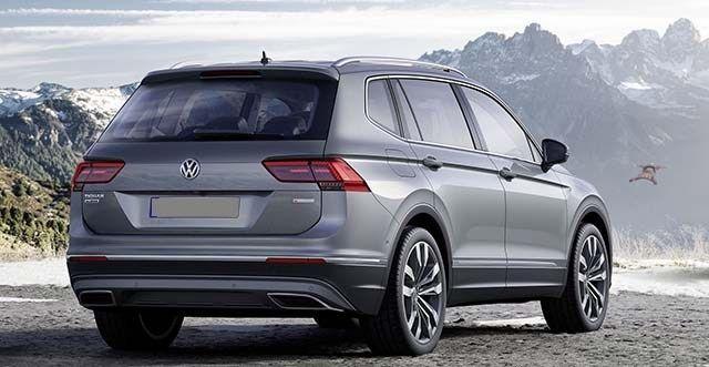 2020 VW Tiguan: Design, Specs, Price >> 2020 Vw Tiguan Allspace Concept Cars Group Pins Touareg
