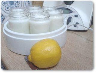 Telita na Cozinha: iogurtes