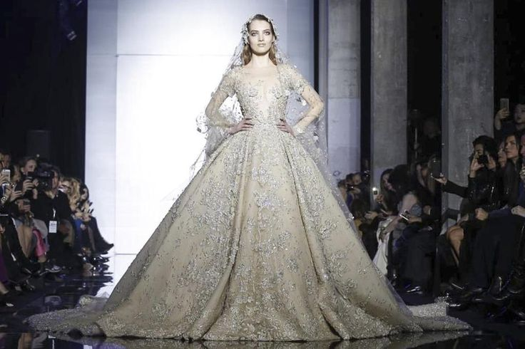 The @ZMURADofficial #HauteCouture show will be starting soon. Live experience: http://nwf.sh/1LTK5M4  #zuhairmurad