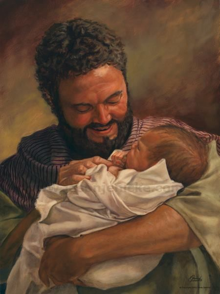 """Can you imagine how honorable and God Fearing Joseph must of been, that Jehovah would use him to be the stepfather of His son when he was an infant. -- Matthew 1:20. . .Jehovah's angel appeared to him in a dream, saying: """"Joseph, son of David, do not be afraid to take your wife Mary home, for what has been conceived in her is by Holy Spirit. 21 She will give birth to a Son, and you are to name him Jesus, for He will save his people from their sins."""""""