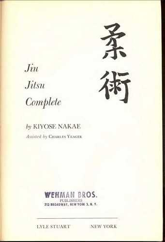 Kiyose Nakae - Jiu Jitsu Complete