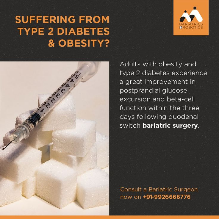 Type 2 Diabetes combined with obesity is completely curable. Consult a Bariatric Surgeon now. Call - 9926668776 #Diabetes #Type2Diabetes #surgery #India