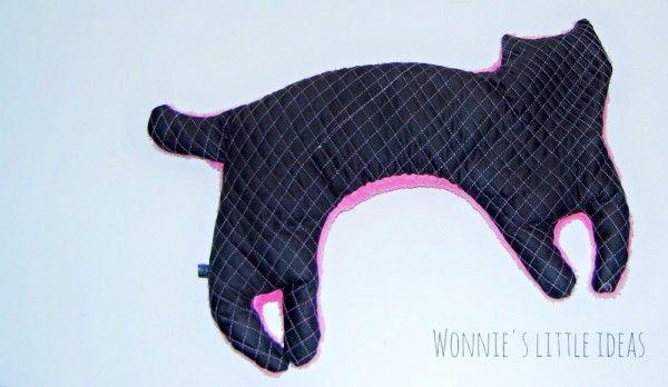 Nicht lang' schnacken, Katze in' Nacken! (Ohnedinkelnackenkatze) - Handmade Kultur (ohne Schnittmuster)
