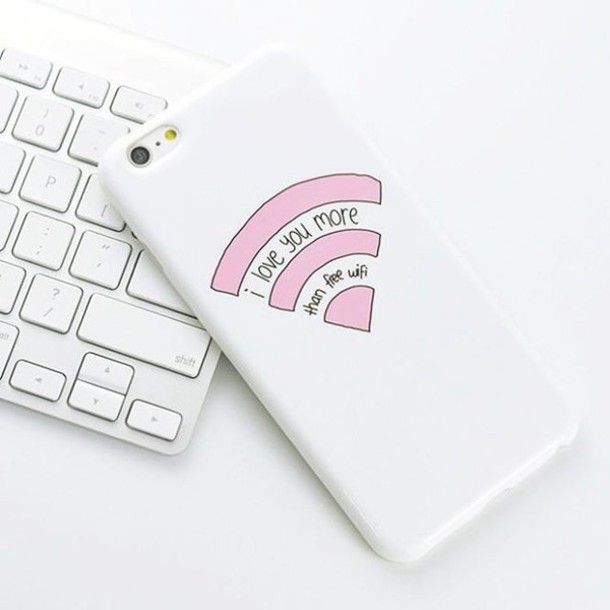 Iphone Cover : Wifi Tipo Tumblr
