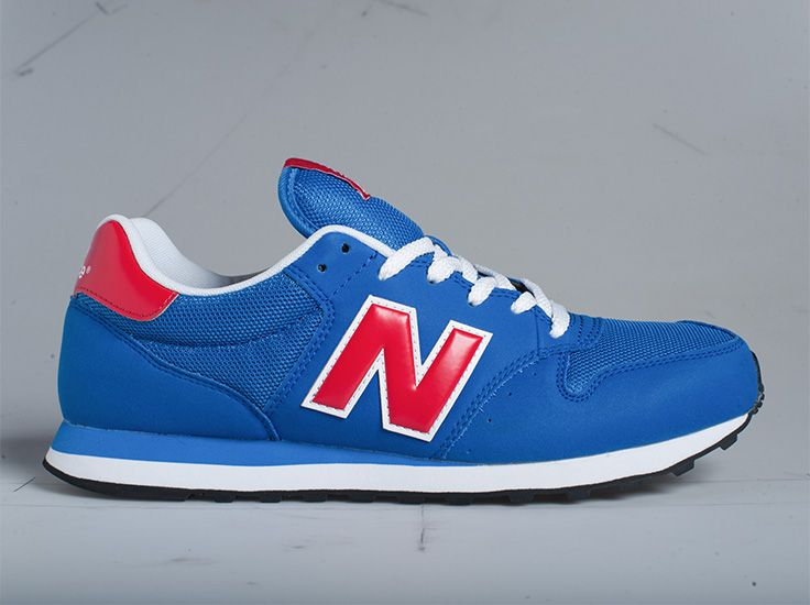 new balance 500 trainers in red