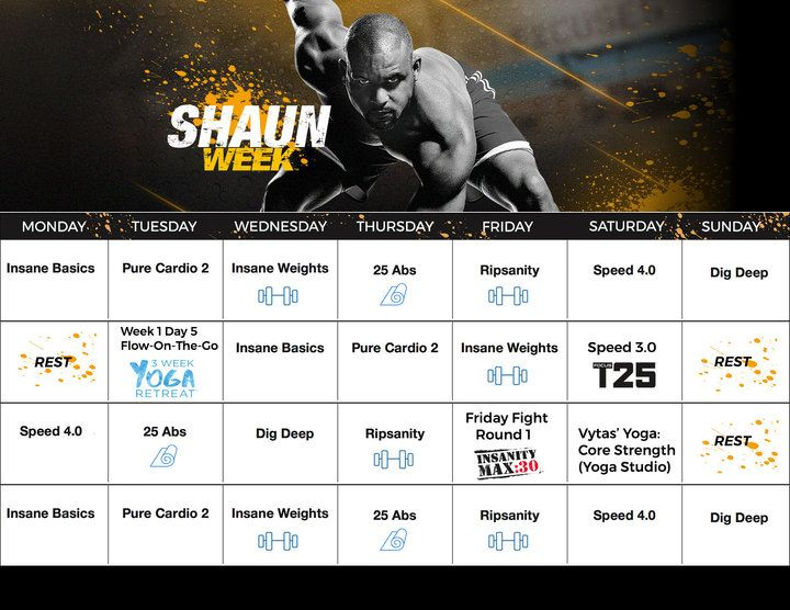 Shaun Week Calendar {CLICK HERE to join!}  | healthy living | health and fitness | beachbody | beachbody program | Focus  T 25 | accountability | home workout program | weight loss program | strengthen | tone | workouts | eating | results |  30 day results  | nutrition plan  | hybrid calendar | insanity max 30 | yoga | weights | tone | shaun t |