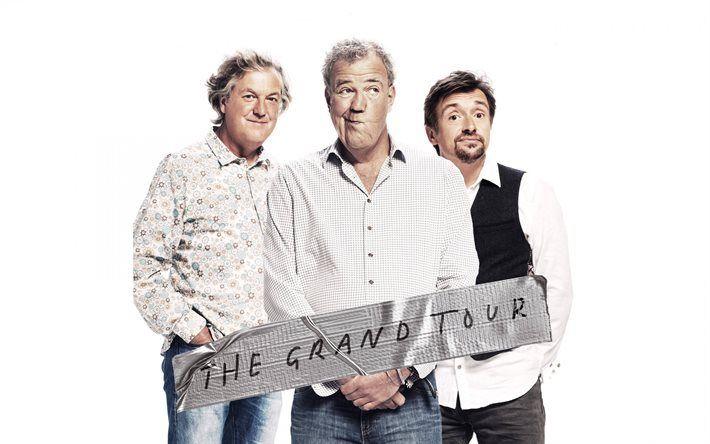 Scarica sfondi Il Grand Tour, Jeremy Clarkson, James May, Richard Hammond