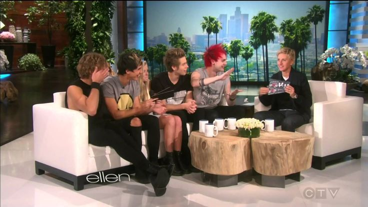 5 seconds of summer - Ellen tv show (interview # 3)