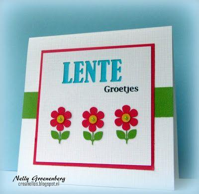 Crea Nellos: Lente groetjes....