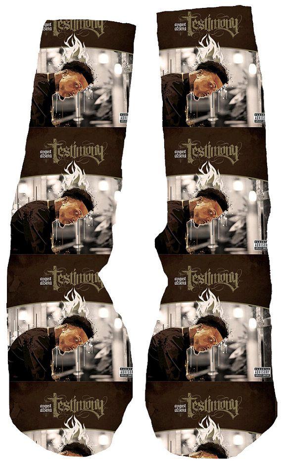 Hey, I found this really awesome Etsy listing at https://www.etsy.com/listing/202158073/august-alsina-testimony-custom-socks