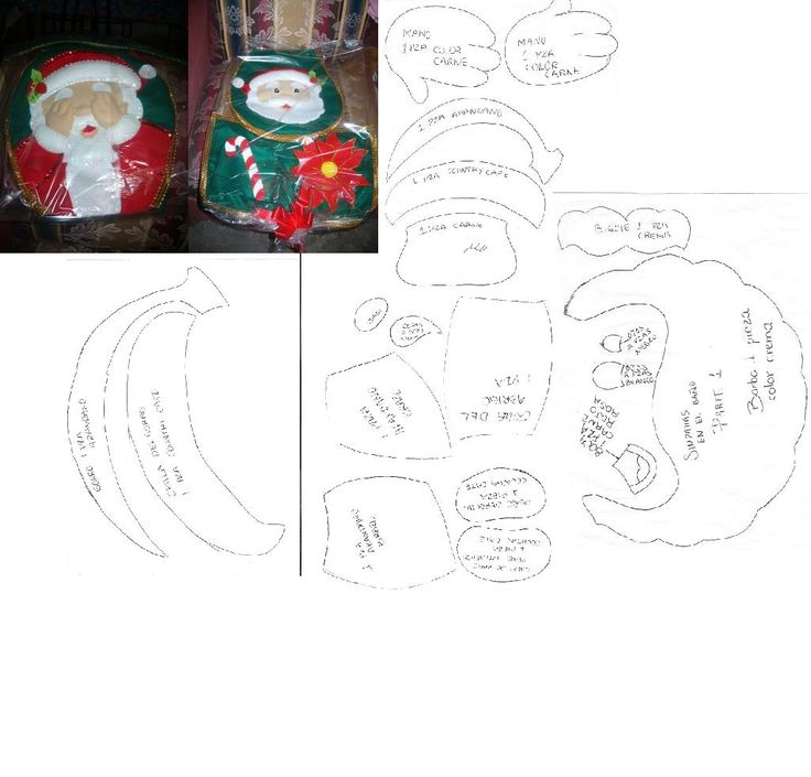 659 mejores imágenes sobre Navidad Moldes en Pinterest ...