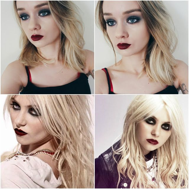 Taylor Momsen Inspired Makeup look by www.charwbeauty.com