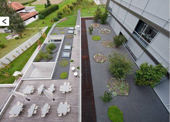 Office. Roof GardensGreen RoofsOffice DesignsLandscape ...