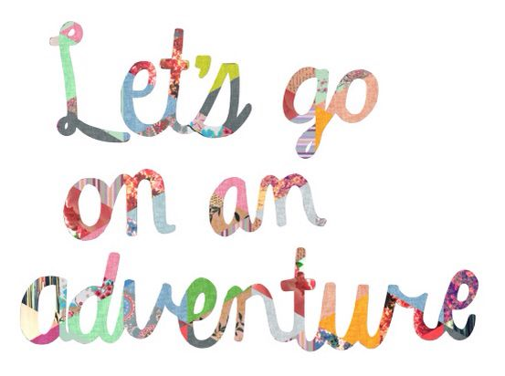 """Let's Go On An Adventure"" canvas for my dream room"