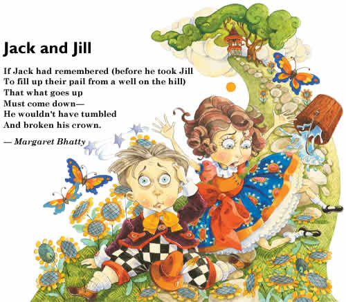 Jack And Jill Nursery Rhyme Funny Poems Y Free To Market S Photo Kids Rhymes