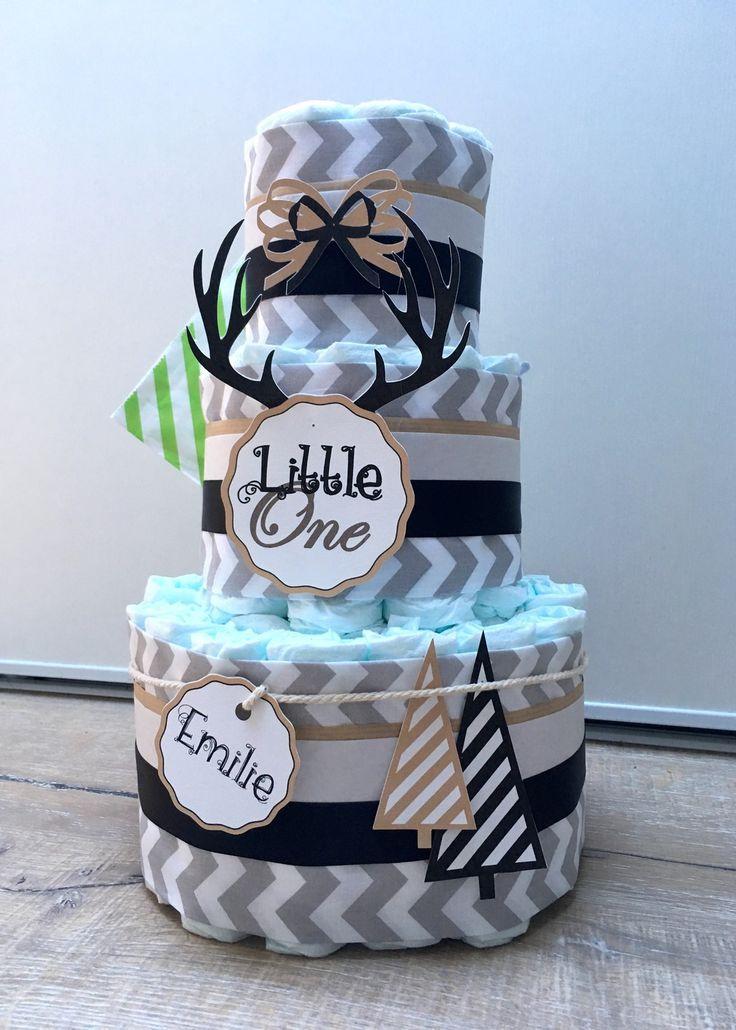 Gâteau de couches mixte décoration bébé : Décoration pour enfants par cha-choux